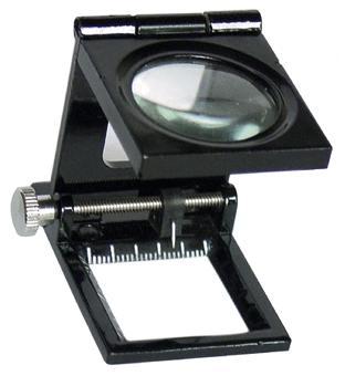 10倍三折式放大镜(金属框)