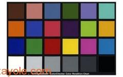 色彩测试标板ColorChecker